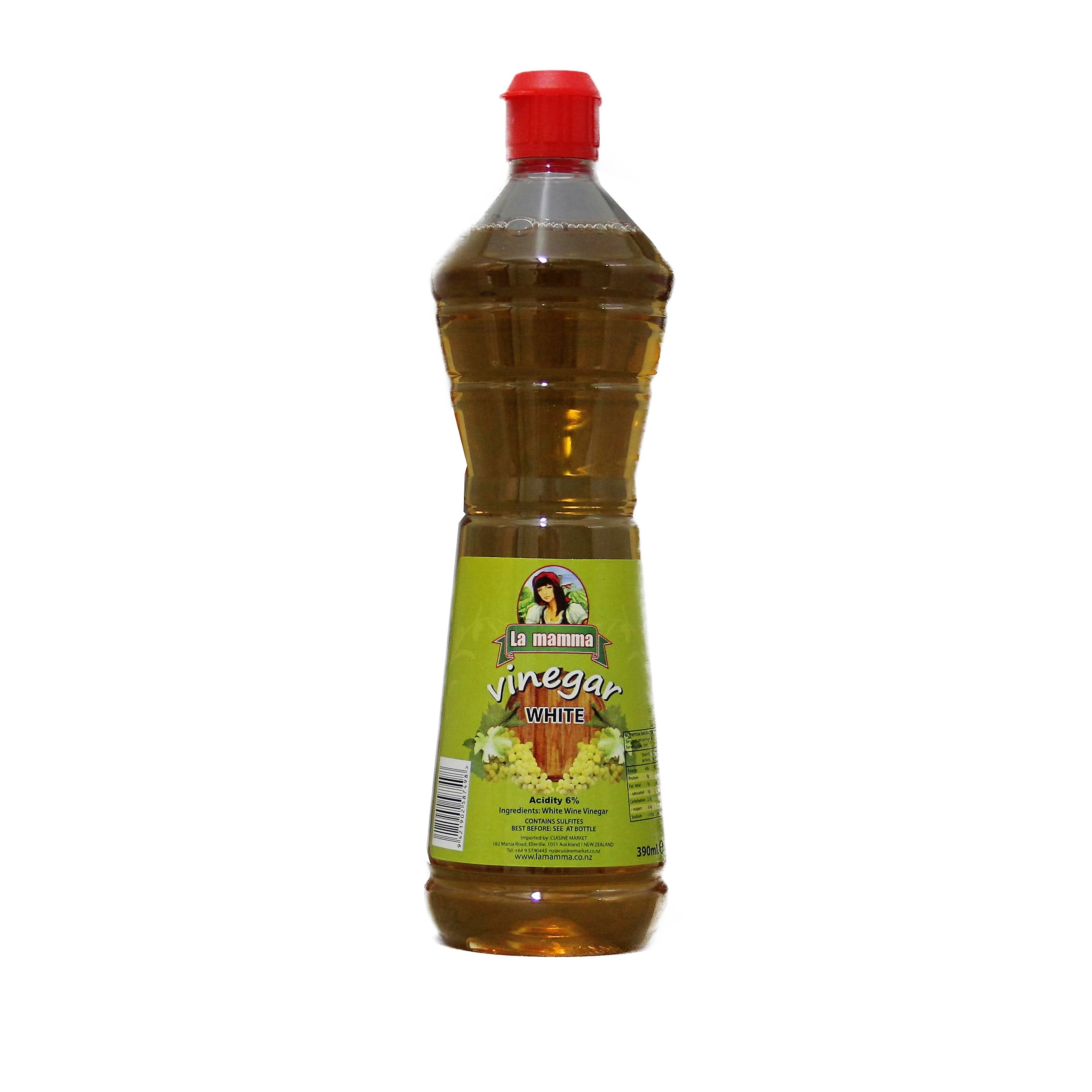 1075 White Wine Vinegar 390ml