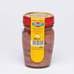 325 Anchovy in Sunflower Oil 80g