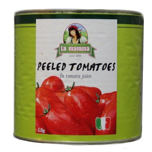 486 tomatoes peeled 2.55kg