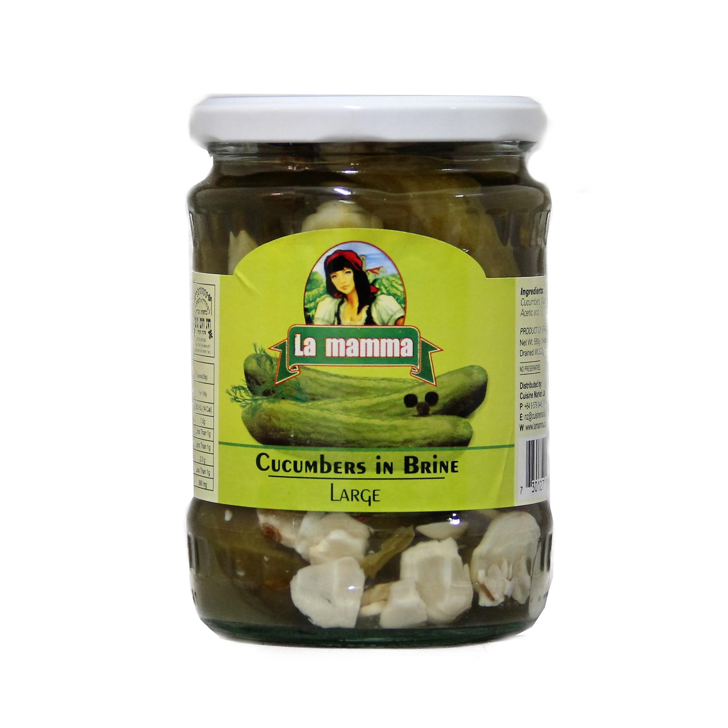 714 cucumber in brine 580g