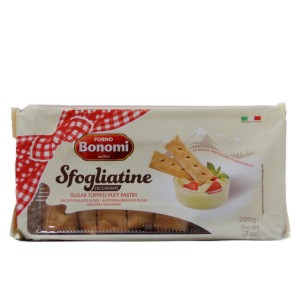 129 puff pastry sugar 200gr