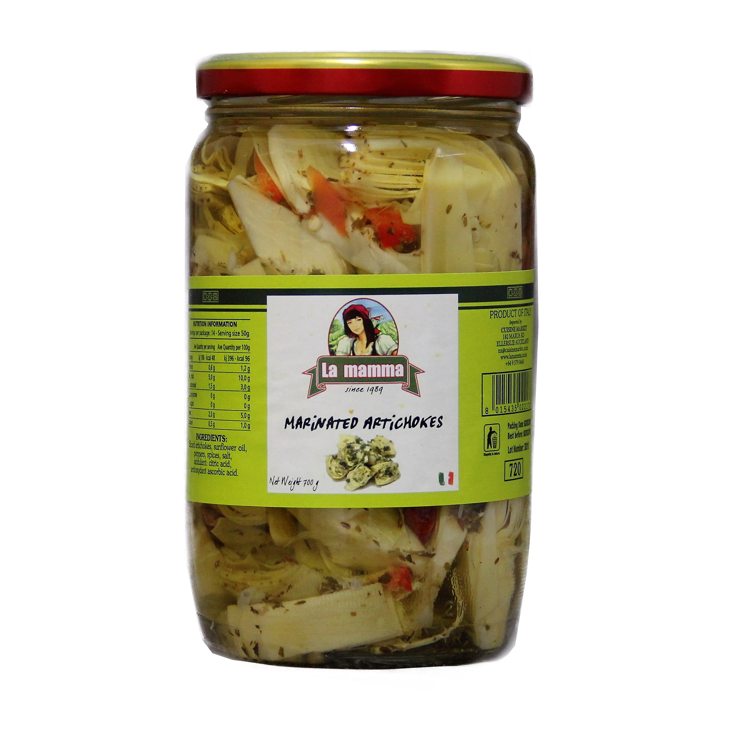 524 artichokes marinated 700g